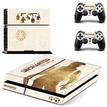 Uncharted 4 A Thief's End PS4 Skin Sticker Decal Vinyl for Playstation 4 Console and 2 Controllers PS4 Sticker