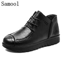 2017 Autumn Winter New Arrival Fashion Women Oxford Shoes Casual Lace Up Shoes Breathable Platform Flat