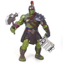 Thor 3 Ragnarok Hulk robert bruce Banner pcv avengers 3 figurka-model kolekcjonerski zabawka 20cm tanie tanio JIE-STAR Puppets Żołnierz części i podzespoły elektroniczne Żołnierz zestaw Żołnierz gotowy produkt Wyroby gotowe