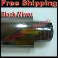 Free shipping High quality car wrap vinyl Car Sticker car decoration film 1.52m*20cm Mirror Chrome with bubble free BW 3002