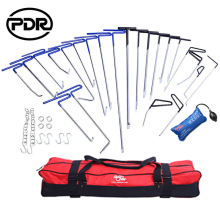 PDR Tools Hooks Push Rods Paintless Dent Repair Kit Auto Tool Set Door Dings Hail Repair