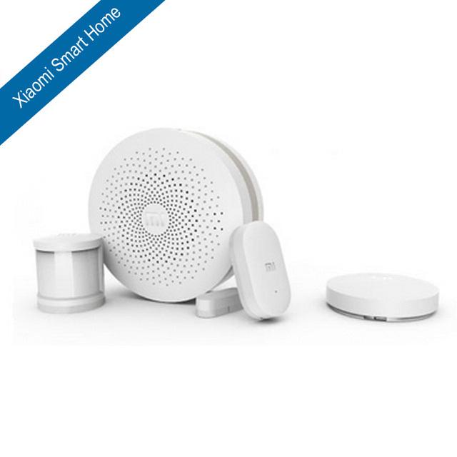 Original xiaomi smart home kit: puerta Inteligente Multifunción + Conmutador Inalámbrico + Sensor de La Puerta Ventana Del Sensor Del Cuerpo Humano