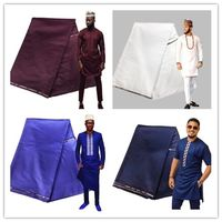 Very High Quality Factory Cashmere Fabric For Men Sewing Shirt Very Soft Feeling Swiss Lace Material 10 Yards Best Quality atiku
