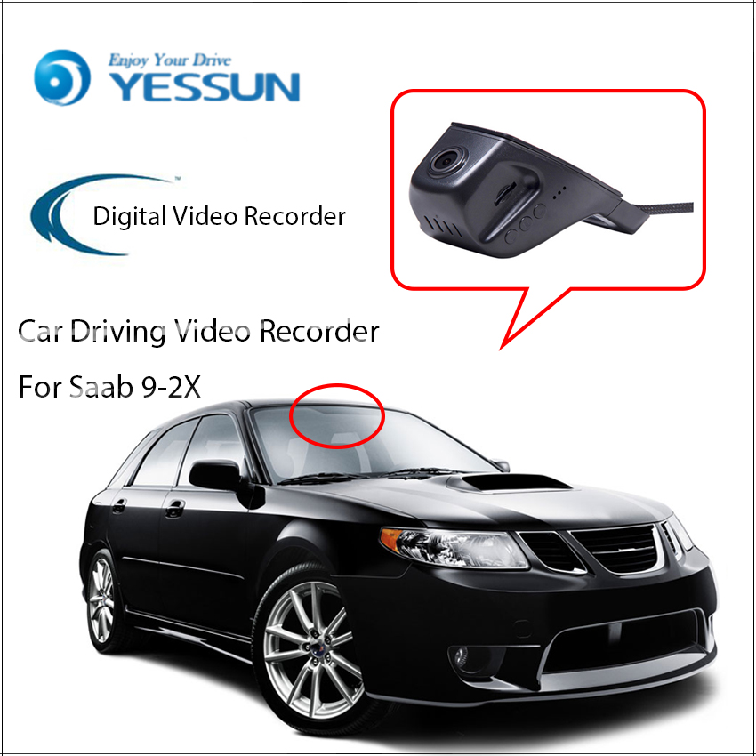 2006 Saab 9 2x Camshaft: YESSUN For Saab 9 2X Car DVR Digital Video Recorder Front