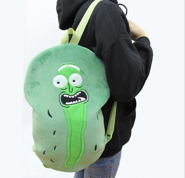 Рюкзак рик и морти плюшевый