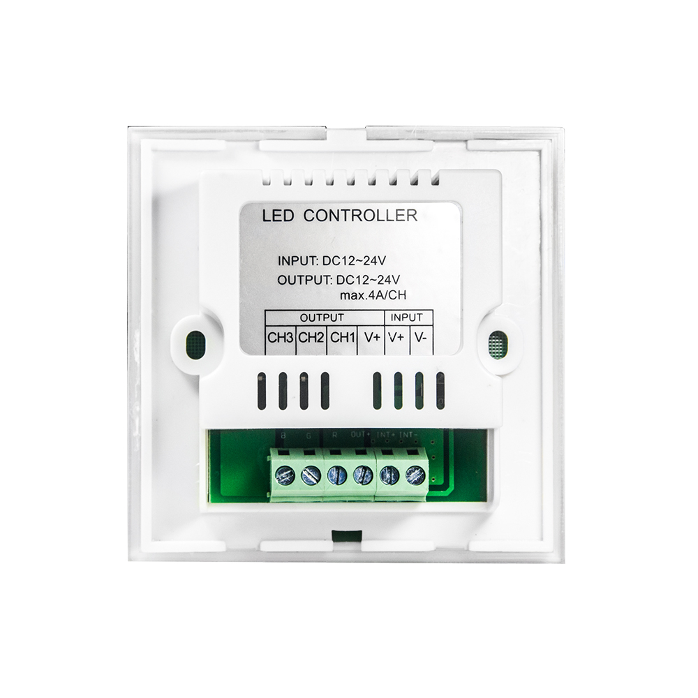4A DC12V-24V / RGB Krmilnik na dotik z LED-ploščo na dotik na - Pribor za razsvetljavo - Fotografija 3