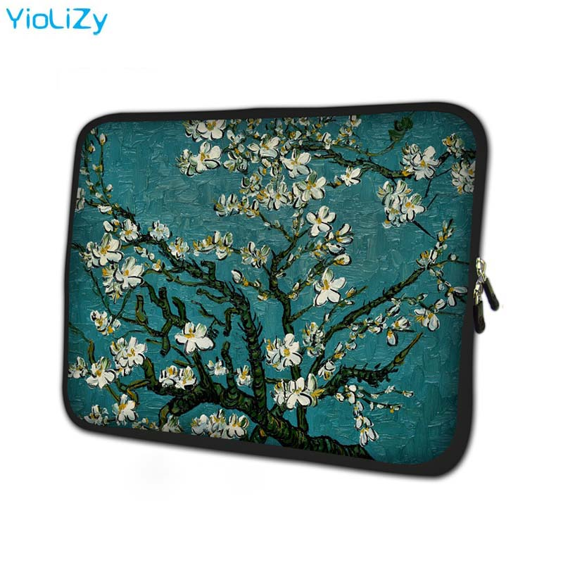 Cherry Tree Laptop Bag Protective Case Notebook Liner Sleeve 7 10 12 13 14 15 15.6 17 Inch Computer Tablet Cover Pouch NS-15111