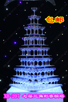 Wedding champagne tower cup tower wedding props simple champagne tower mousse xb 20 without cups and lights