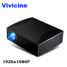 Vivicine F30 1920X1080 Full HD Projector, HDMI USB PC 1080p LED Home Multimedia Video Game Projector Proyector(China)