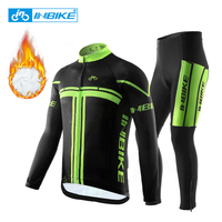 INBIKE 2019 Winter Thermal Fleece Cycling Clothing Pro Bike Clothes Wear MTB Bicycle Jersey Set Maillot Ropa Ciclismo Invierno
