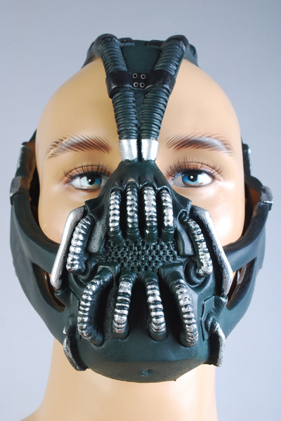Batman The Dark Knight Rise Mascara Bane Latex Mask Halloween- ի անվճար առաքում [320034]