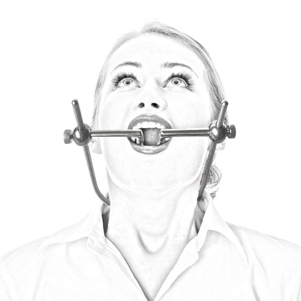 Stainless Steel BDSM Open Mouth Gag Fetish Restraints Erotic Oral Fixation Sex Toys Couples Adult Game Products bondage