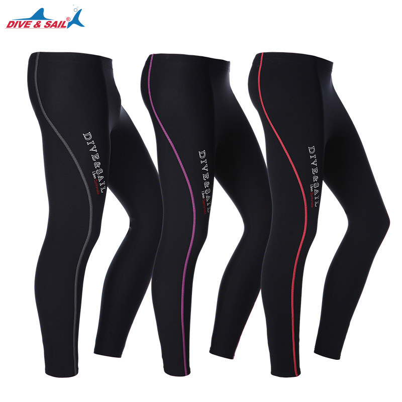 2018 New 1.5MM Thick warm Warm Diving Pants Men and women Split snorkeling pants Sailing Surfing Winter Swimming trunks