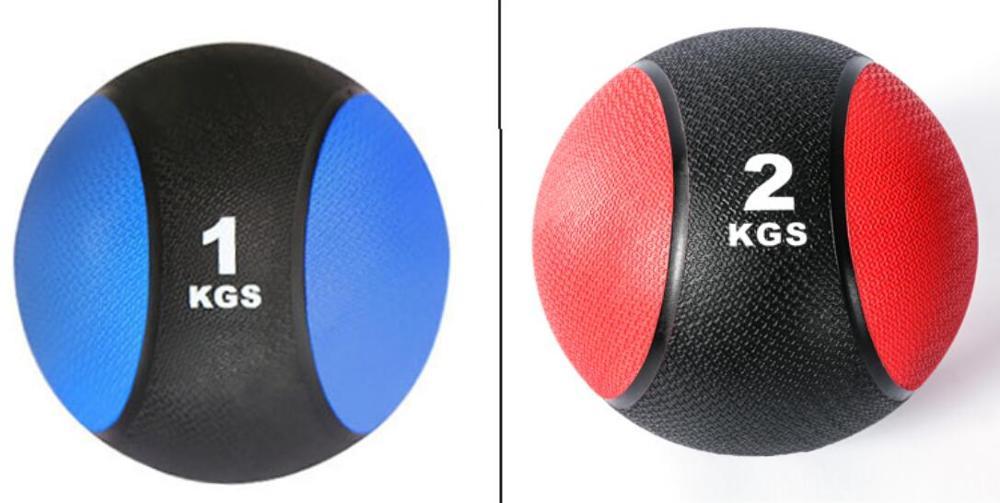 Solid Rubber waist abdomen rehabilitation training medicine ball gravity ball fitness ball-in Fitness Balls from Sports & Entertainment    1