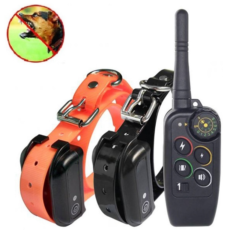JanPet New Electric Dog Training Collar Large Dog Training Collars 1000m Remote Pet Trainer No Bark