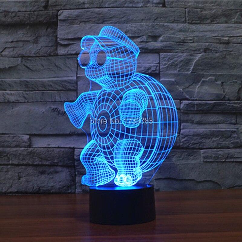 little tortoise 3D Night Light (4)