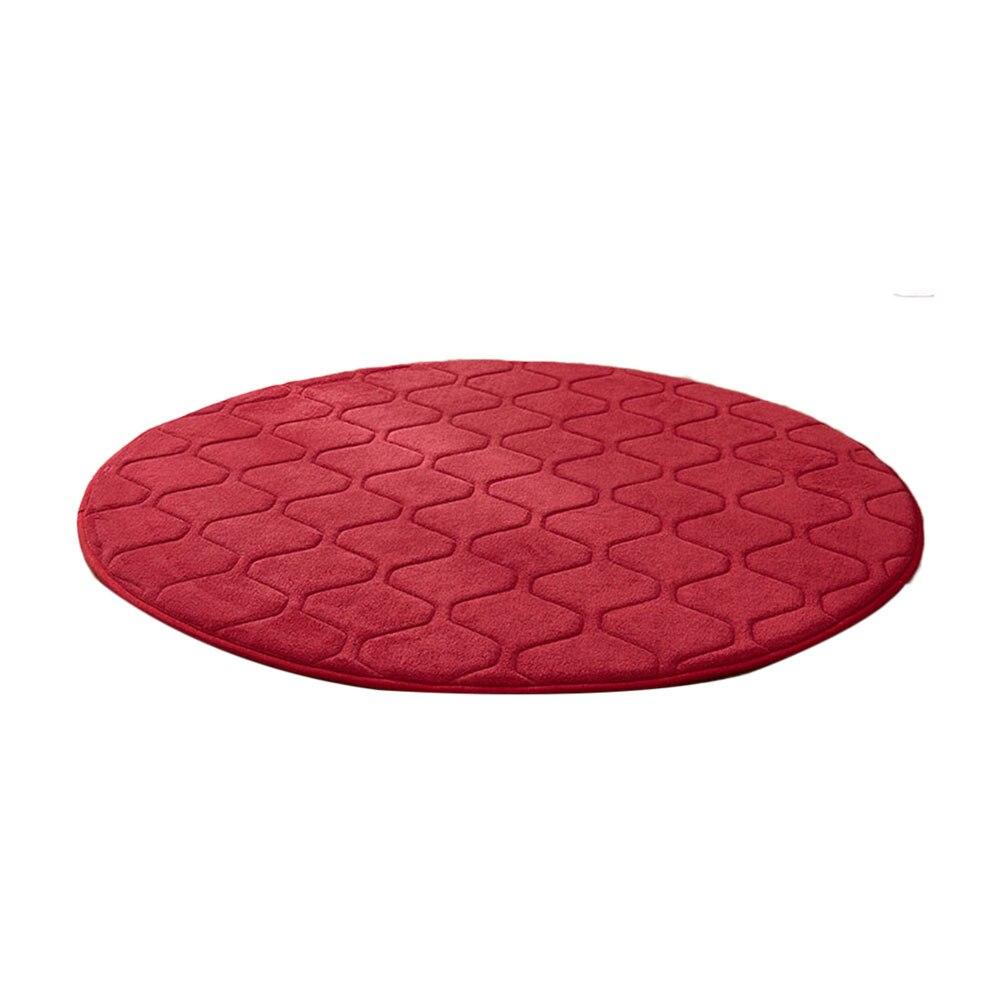 Коралловая шерсть мульти-цветной коврик для утолщения мусульманский для молитвы инструмент медитации подушки для медитации поклонение коврик чайная церемония - Цвет: red