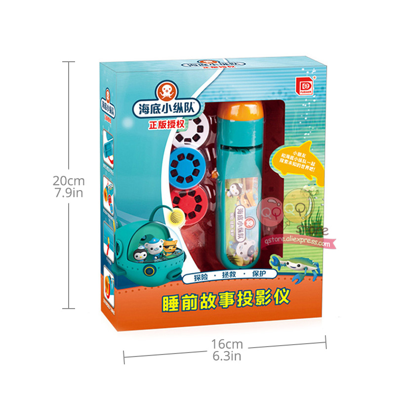 Mini Animation Projector Torch Educational Light-up Toys for Children Kids  Develop Play Sleeping Stories Perform Set Child Gift