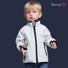Kids jackets softshell coat waterproof baby boys girls outerwear spring autumn children outdoor jacket plus velvet
