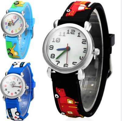 Waterproof 30m Children Silicone Wristwatches car Brand Quartz Wrist Watch For Girls Boys Fashion Casual new fashion design unisex sport watch silicone multi purpose date time electronic wrist calculator boys girls children watch