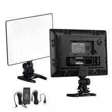 DSLR YONGNUO YN 300 YN300 Air Ultra Thin CRI 95 + ไฟ Led 3200 5500 K สี 2000LM สำหรับกล้อง Canon Nikon Sony