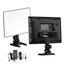 DSLR YONGNUO YN 300 YN300 الهواء رقيقة جدا CRI 95 + Led الفيديو الضوئي لوحة 3200 5500K ثنائية اللون 2000LM لكاميرات كانون نيكون سوني