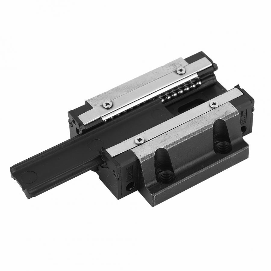 EG25 84 73 26mm Bearing Steel Linear Rail Carriage Rail Block Slider Linear Motion Block Flange linear guide rail in Linear Guides from Home Improvement