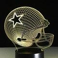3D Illusion Lamp Dallas NFL Football Team Logo Cowboys Night light Baby Veilleuse Innovative Nightlight Veilleuses Pour Enfants