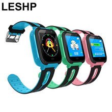 LESHP G36M-S4 Children Smart Watch 1.44 INCH Touch Screen GPRS LBS Location SOS Call Remote Monitor GSM Anti-Lost Watch for Kid
