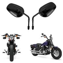 Зеркало заднего вида для мотоцикла Harley Road King Touring XL 883 SPORTSTER Road King Fatboy Softail Bobber Chopper Street Glide