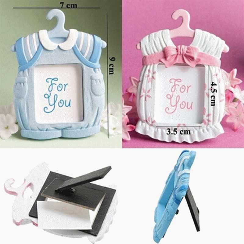 Baby Child Children Wedding Resin Mini Photoframe Modern Picture Frame White Family Photo Frame Sets For Wall Home Decoration