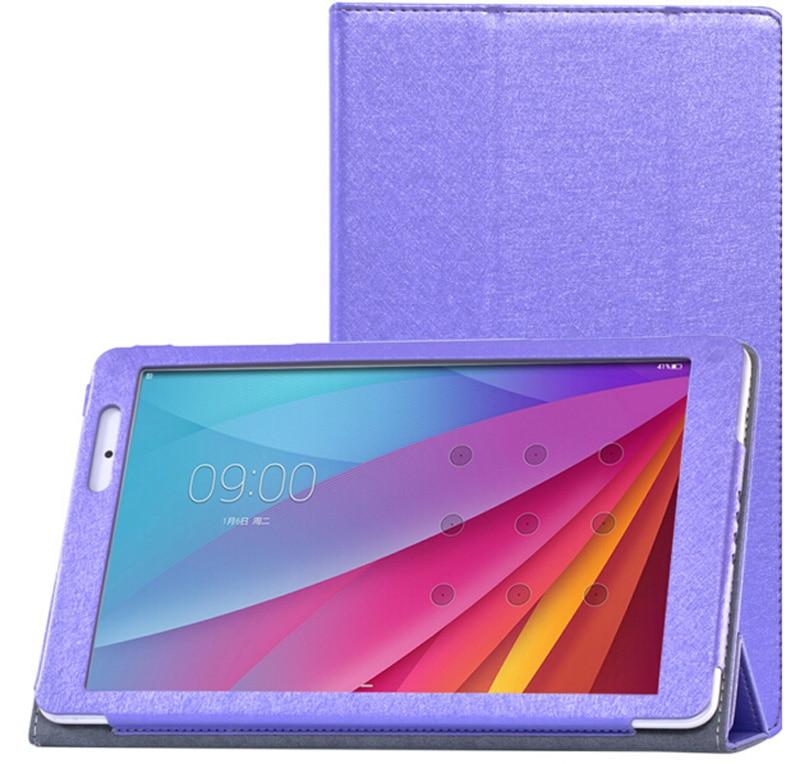 Nowe 3-folderowe luksusowe ultra-cienkie jedwabne wzory Folio Stand - Akcesoria do tabletów - Zdjęcie 6