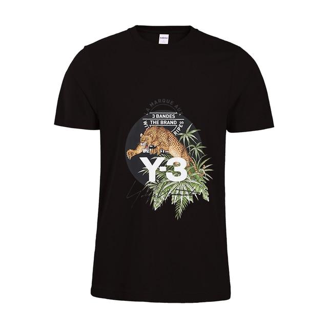 e8896c1e37bd Compre 2019 Novos Homens T Shirt Panther Graphic Tee Estilo Tropical ...