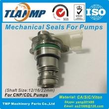 TLANMP Cartridge-Seals Shaft-Size for CDL/CDLF Pumps 16mm CNP/SPERONI CDLC-16 CNP/SPERONI