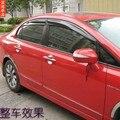 Mugen Стиль Солнцезащитный Козырек Окна Для Honda Civic 2006 2007 2008 2009 2010 2011