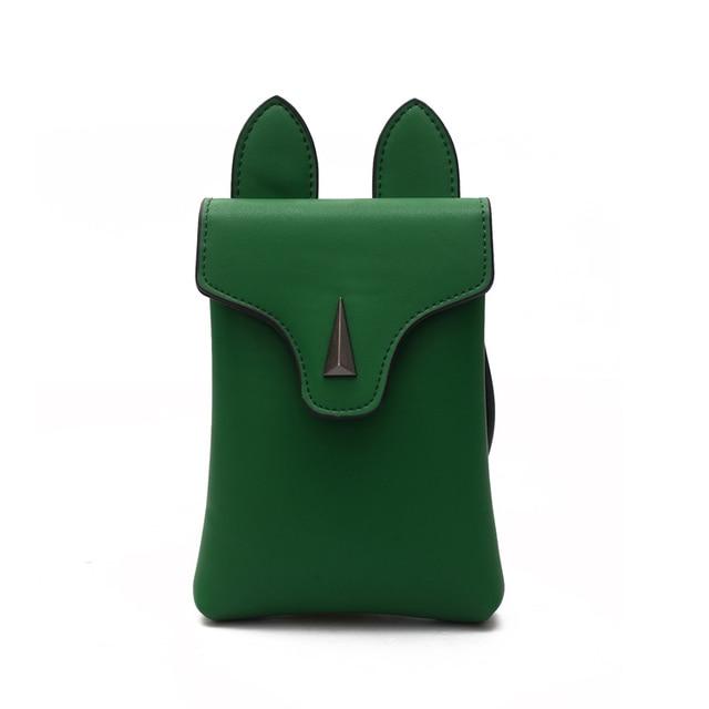 Women Bag 2017 New Summer Cartoon Shoulder Bag Cute Little Fox Mobile Phone  Bag All