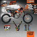 Team Graphics & Backgrounds Decals Scratch Resistant 3M MX Stickers Kit For KTM SX SXF 03-04 05-06 to 17 10 EXC 2005 06 07 to 17