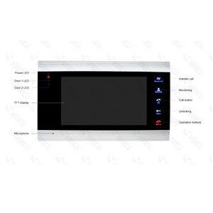 Image 3 - Homefong 7 אינץ Wifi וידאו דירות טלפון דלת וידאו אינטרקום מערכת פעמון עם 2 כפתור IP אלחוטי בקרת גישה מערכת