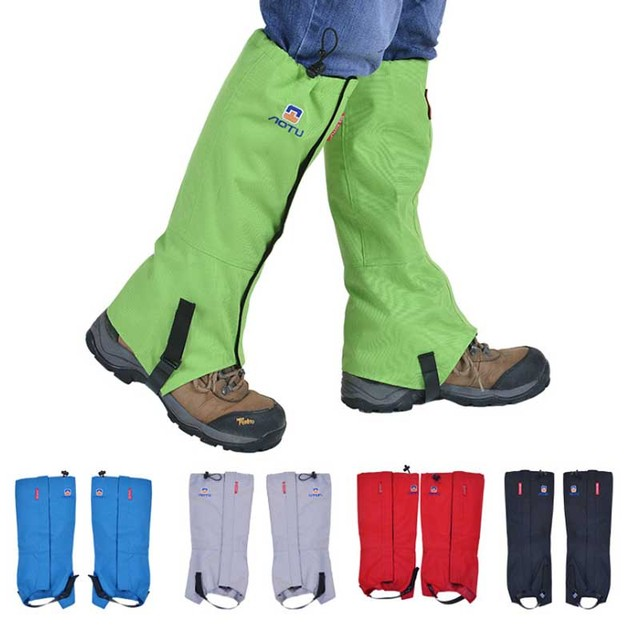 Adjustable Waterproof Leg Sleeves, Gaiters