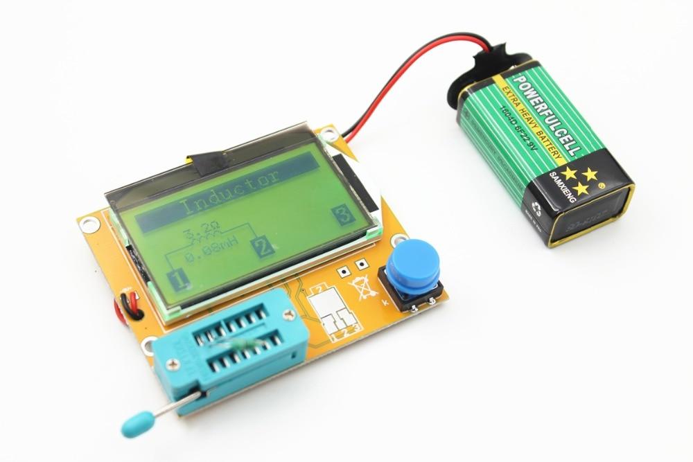 Hohe Qualität Marke Neue LCR-T4 ESR Meter Transistor Tester Diode Triode Kapazität SCR Induktivität