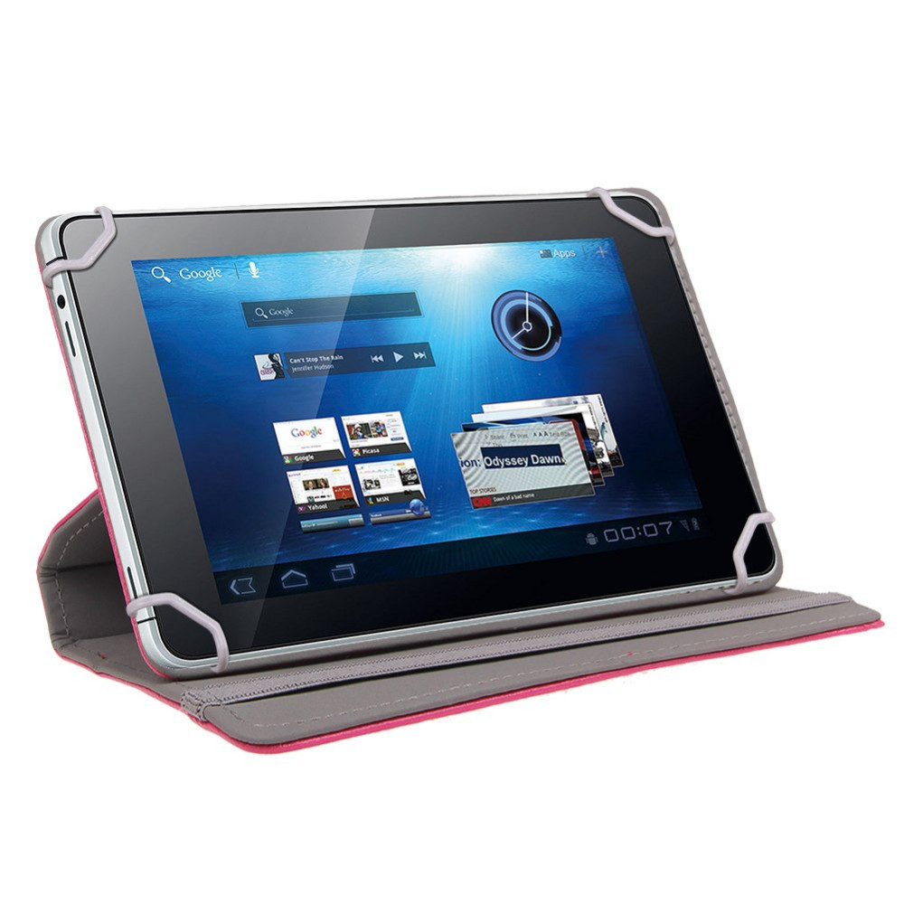 US $7 91 12% OFF|For Sony Z2 Tablet Slim Folding Cover Case 360 Degree  Rotating for Sony Xperia Z2 10 1 inch Tablet Case PU Leather Cover+pen-in