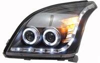 Daytime Running Light DRL For Toyota Prado FJ120 2003 2004 2005 2006 2007 2008 2009