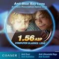 Anti Blue Ray Lens Myopia Presbyopia Prescription optical lenses glasses lens for eye Reading Eyewear lentes opticos