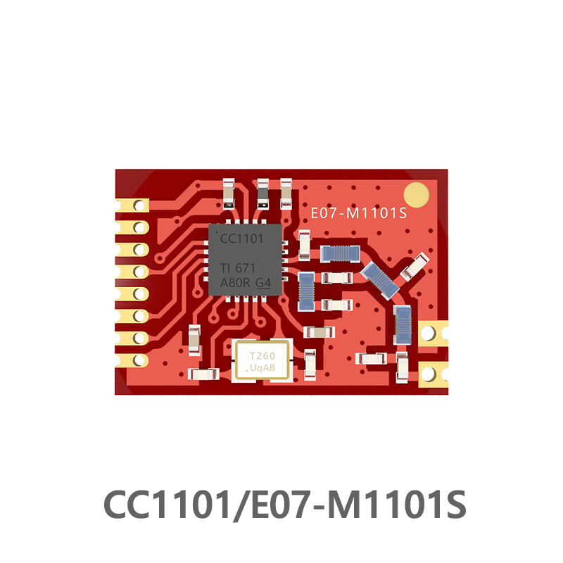 CC1101 433MHz Wireless Transceiver Ebyte Rf Module  E07-M1101S 10mW SPI Rf Transmitter And Receiver 433 MHz Stamp Hole CC1101