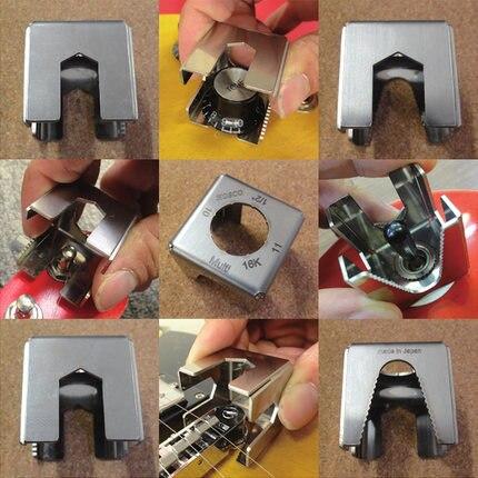 Outils de Luthier professionnels Hosco-Cube d'écrou de guitare