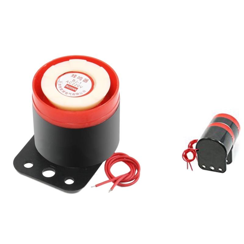 2 Packs BJ - 190 Decibel 220 VAC Sirene Electronic Alarm Sound Vibration Noise