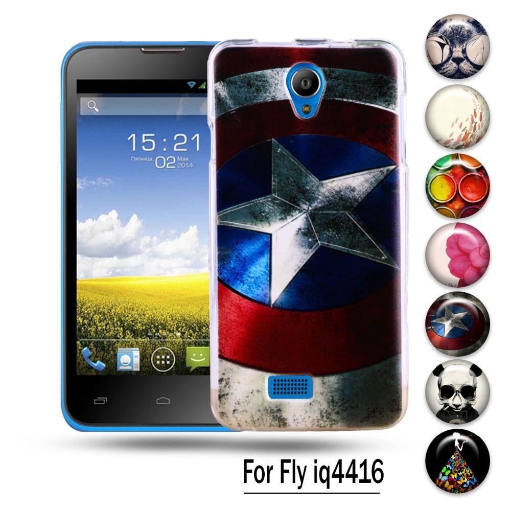 AKABEILA Silicon Case For Fly IQ4416 Fly quad Era Life 5 IQ 4416 life5 Phone Cover Anti-knock Protective Shell