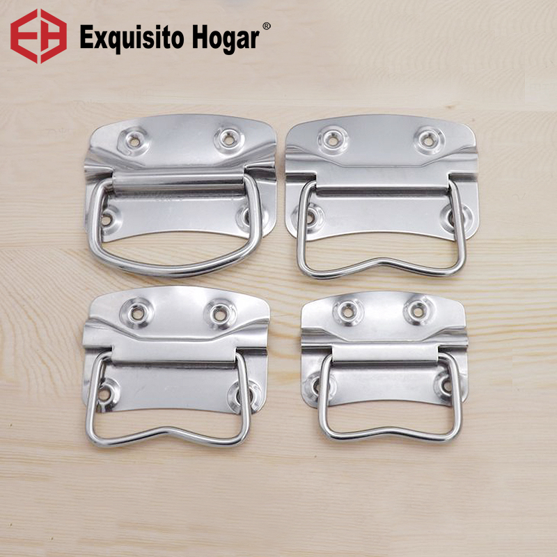 Stainless Steel Packing Industrial Hand Box Suitcase Handbag Handle Furniture Wooden Box Hardware Fitting