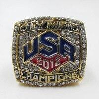 Free Shipping Hot Selling Sports Jewelry 2012 USA Olympics Basketball Team Championship Ring