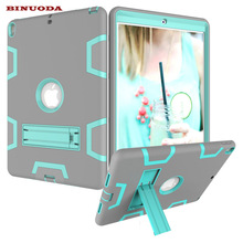 For Coque iPad Pro 10.5 Case Shock-Absorption Armor Defender Case Hybrid PC Rugged Silicone Cover for iPad Pro10.5 inch Tablet